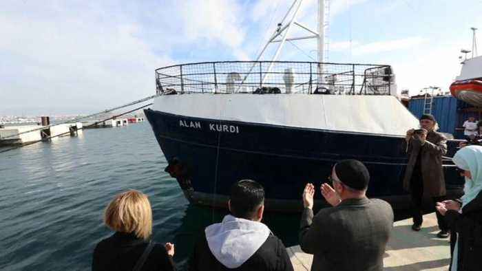 German rescue ship renamed in honor of drowned Syrian boy Alan Kurdi
