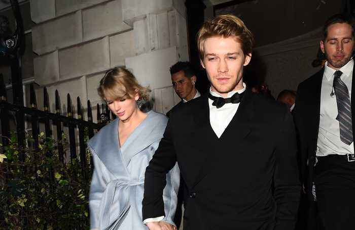 Taylor Swift ditches Grammys to attend BAFTAs with boyfriend Joe Alwyn