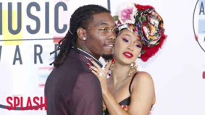Cardi B Joined By Offset On Grammy Stage