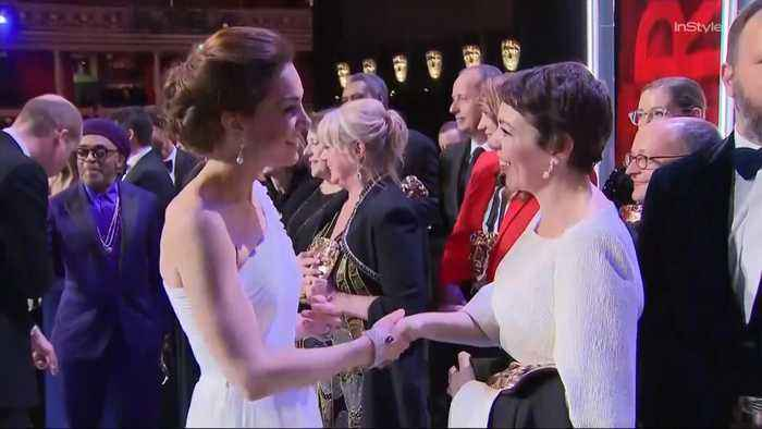 Right Now: Kate Middleton and Prince William Had the Most Potentially Awkward Run-In at the BAFTAs