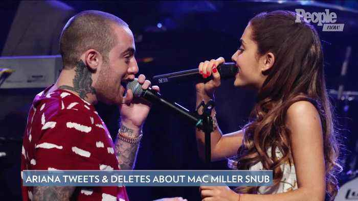 Ariana Grande Tweets & Deletes Angry Messages as Mac Miller Loses Grammy: 'Literal Bulls-'