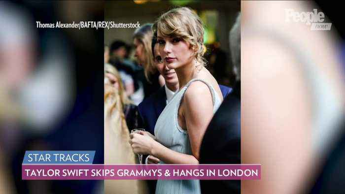 So Sweet! Taylor Swift Skips Grammy Awards, Attends BAFTAs Afterparty with Boyfriend Joe Alwyn