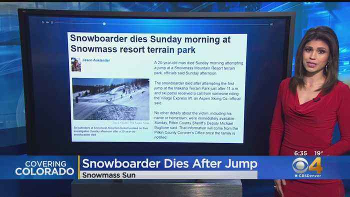 Snowboarder Who Died At Snowmass Identified