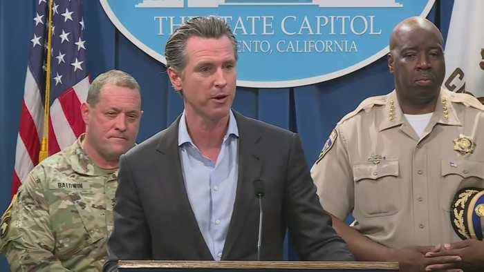 Gov. Newsom To Pull Hundreds Of National Guard Troops From Border