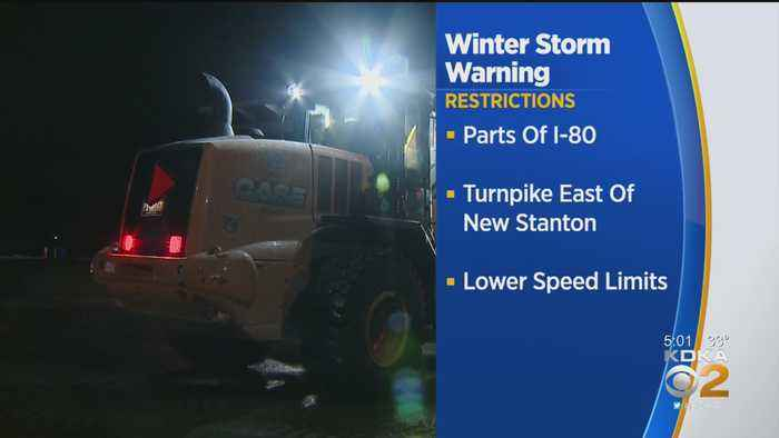 Winter Storm Warning Prompts Vehicle Restrictions From PennDOT, Pennsylvania Turnpike