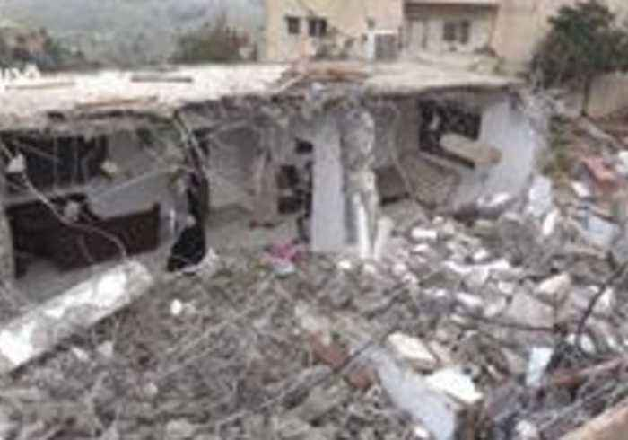 Family Home in the West Bank Demolished by Israeli Forces