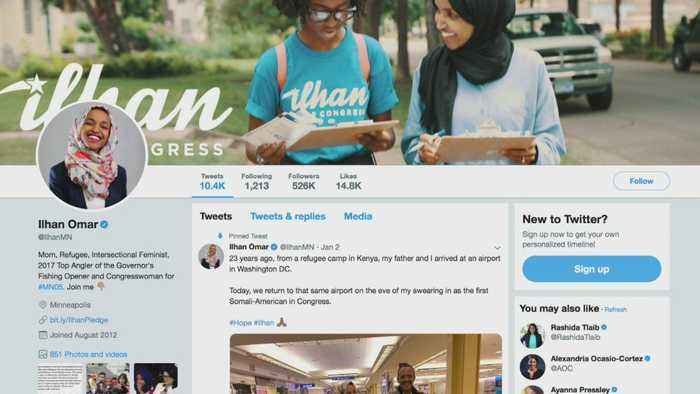 Rep. Ilhan Omar Criticized For 'Anti-Semitic' Tweet