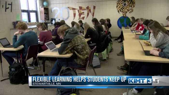 Flexible learning days help students keep up with their lessons