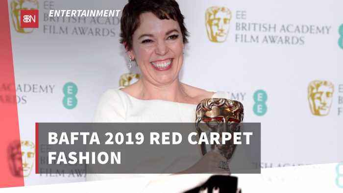 Check Out The BAFTA Red Carpet Fashions