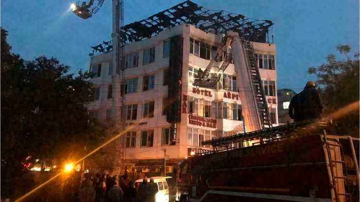 New Delhi Hotel Fire: At Least 17 Dead
