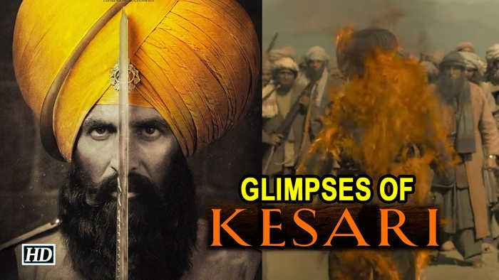 Glimpses of KESARI | Akshay Kumar as Warrior Havildar Ishar Singh