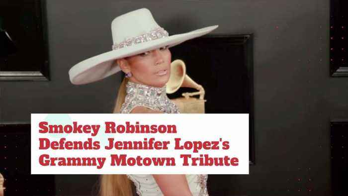 J Lo's Grammy Tribute To Motown Upsets Some People: Why?