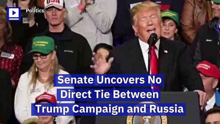 Senate Uncovers No Direct Tie Between Trump Campaign and Russia