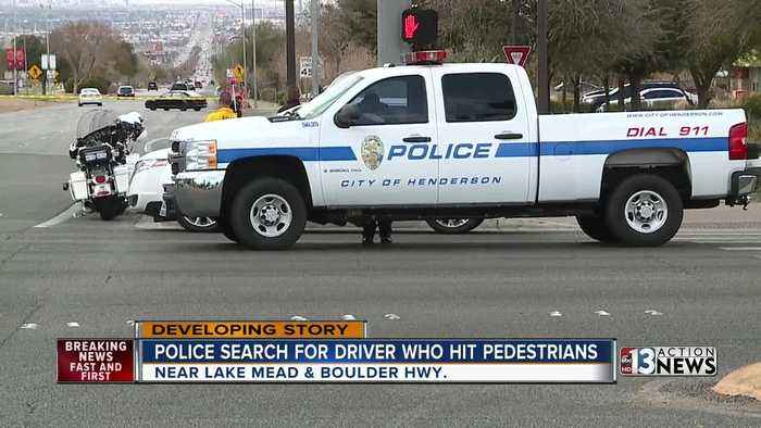 Police continue to search for driver who hit pedestrians