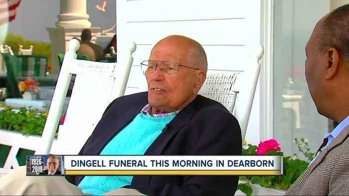 Hundreds to honor John Dingell at funeral on Tuesday