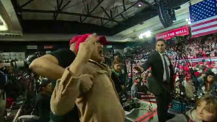BBC Reporter Attacked by Trump Supporter at Rally in Texas