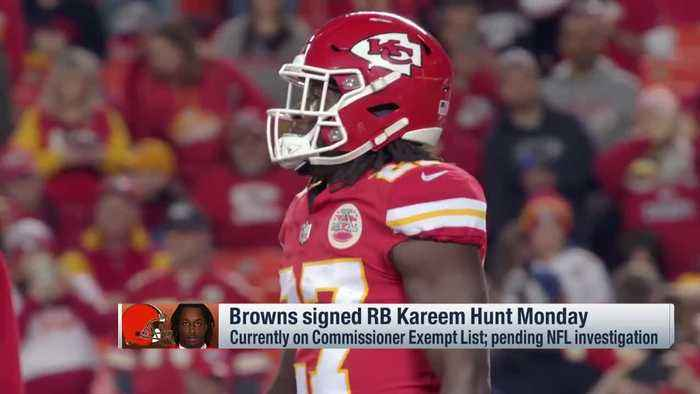 NFL Network's David Carr: 'I'm disappointed' in Cleveland Browns signing running back Kareem Hunt