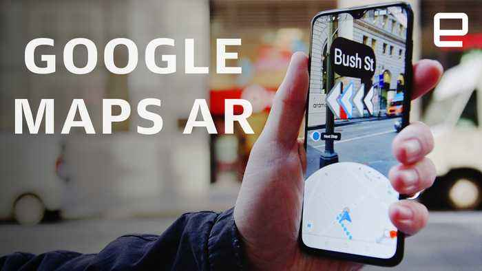 Google Maps AR First Look: Helping you navigate the city