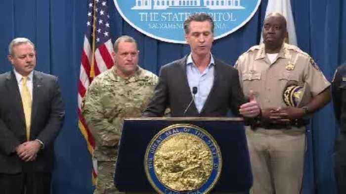 Gov. Newsom Announces Troop Draw Down At Border