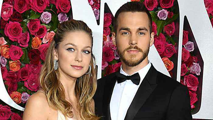 Melissa Benoist & Chris Wood Engaged