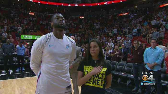 Heat Star Dwyane Wade Has Strong Connection To Parkland Survivors