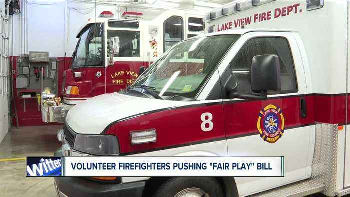 How 'Fair Play' bill would change volunteer fire departments