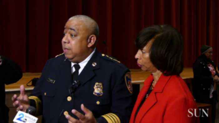 Baltimore residents meet acting Baltimore Police Commissioner