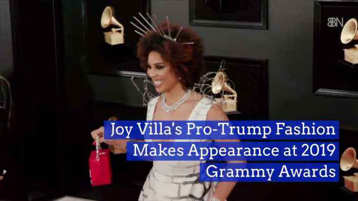 The Grammys Attract One Brave Pro Trump Fashion Appearance