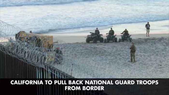 California Pulls Troops From The Mexican Border