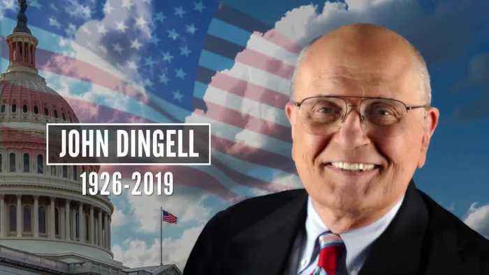Funeral for John Dingell scheduled for Tuesday morning