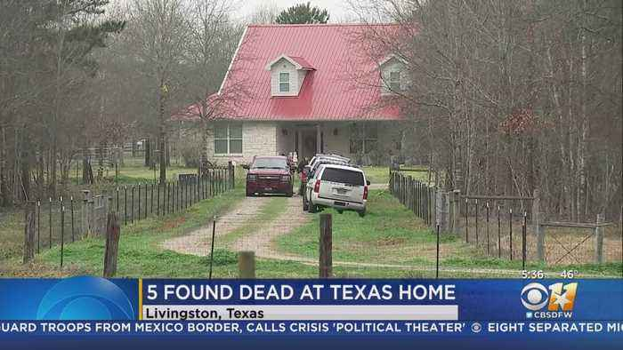 5 People, Including Baby, Found Shot To Death At Southeast Texas Home