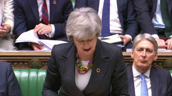 May to parliament: We need to 'hold our nerve' over Brexit