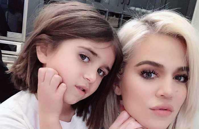 Penelope Disick has first haircut aged six