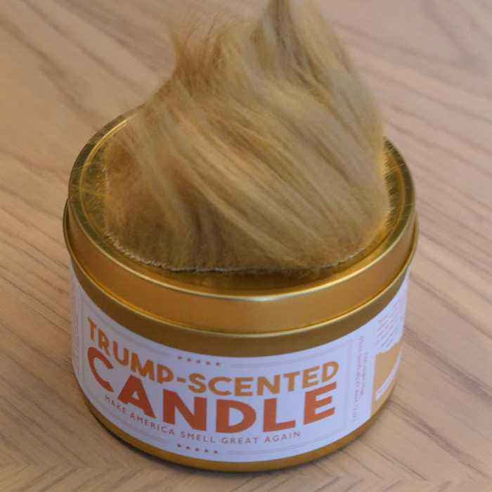 We bought and tried a Trump-Scented Candle