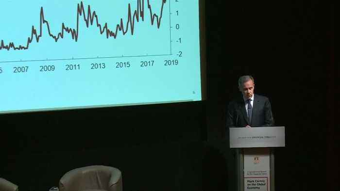 BoE's Carney sees 'delicate equilibrium' as world economy slows