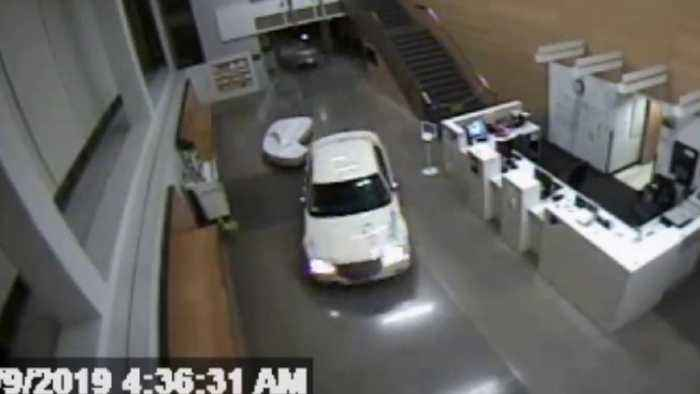 LAPD Officer Recounts Surreal Moment Woman Drove Car with Infant Inside into Station