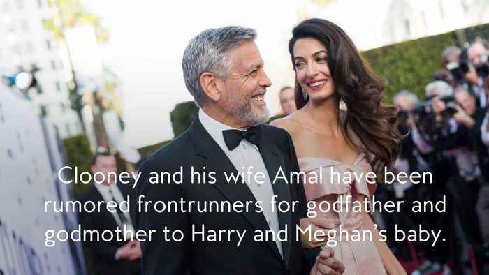 George Clooney Reveals Whether He'll Be Godfather to Meghan Markle and Prince Harry's Baby
