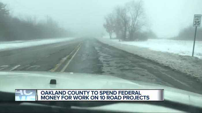 Oakland County officials decide use of $17 million in federal funds for roads in 2022