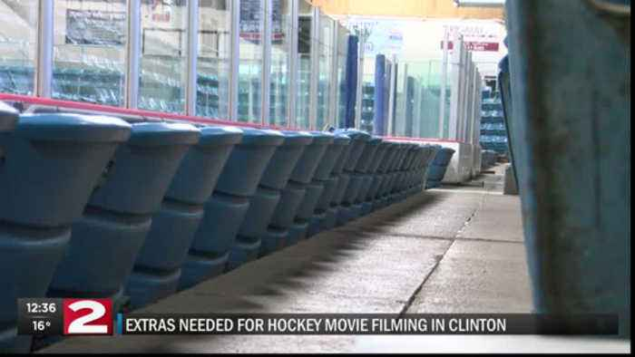 Extras needed for hockey-themed movie filming in Clinton
