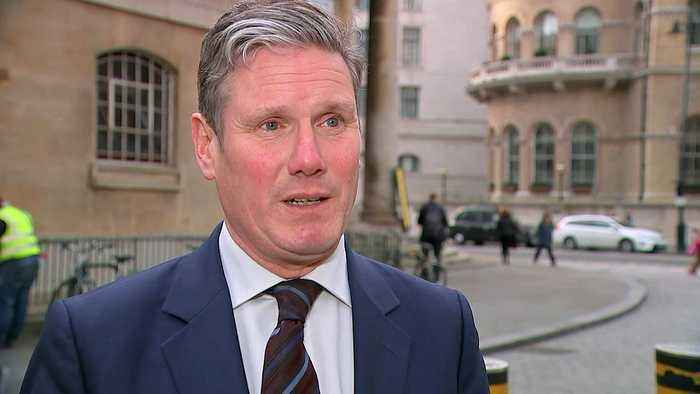 Keir Starmer: PM 'running down the clock' on Brexit