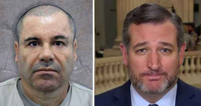 Ted Cruz wants El Chapo to pay for border wall