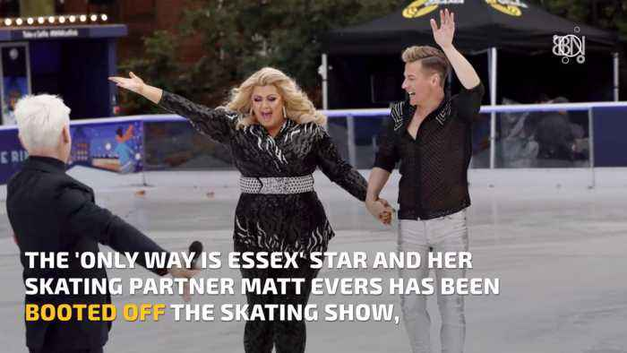 Gemma Collins Has Been Booted Off The Ice