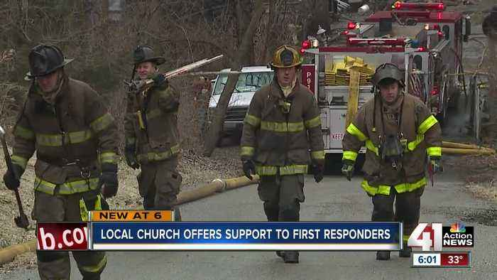 Northland church strives to help first responders