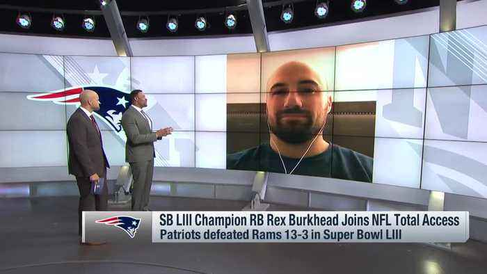 New England Patriots running back Rex Burkhead reflects on whirlwind of first Super Bowl win