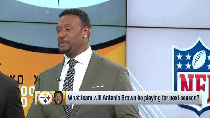 Where will Pittsburgh Steelers wide receiver Antonio Brown be playing in 2019?
