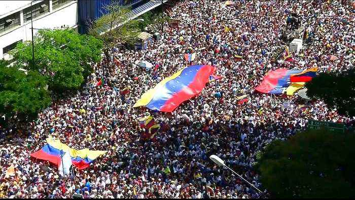 Rival rallies held in Venezuela as political crisis continues