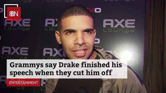 Now The Grammys Says They Really Didn't Cut Off Drakes Speech