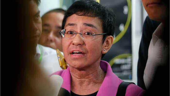 Philippine Journalist Maria Ressa Arrested