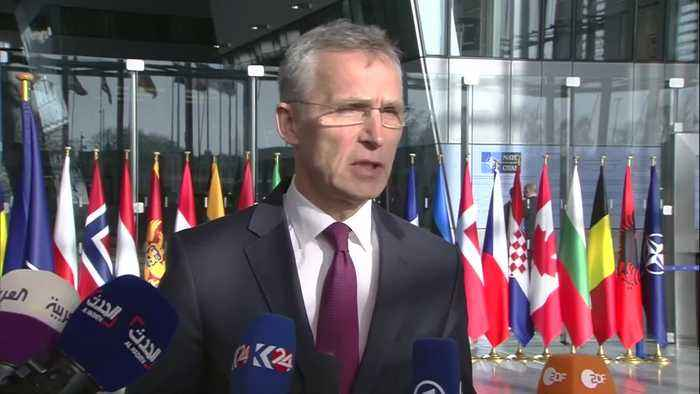 NATO defense chiefs meet on Russia's 'violation of the INF treaty'