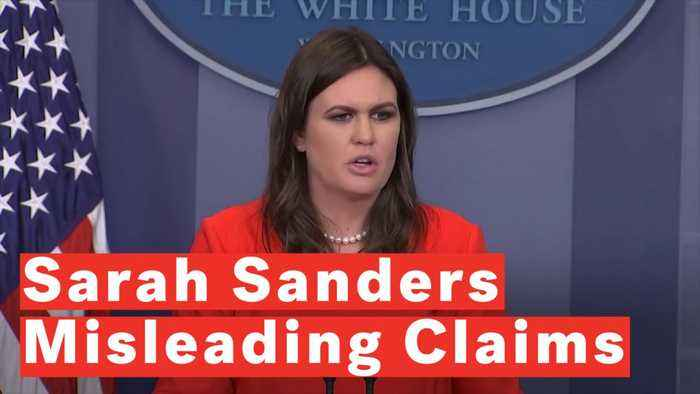 5 Misleading Claims From Sarah Sanders